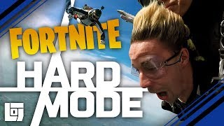 FORTNITE IN SKYDIVE met Jeremy en Link | HARD MODE | LOG