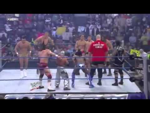 Wwe Smackdown 19 11 10 - Team Rey Mysterio Vs Team Alberto Del Rio (hq) video