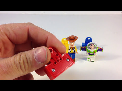 LEGO Toys Story 852949 Magnet 3 pack Woody, Alien, Buzz Lightyear from 2009
