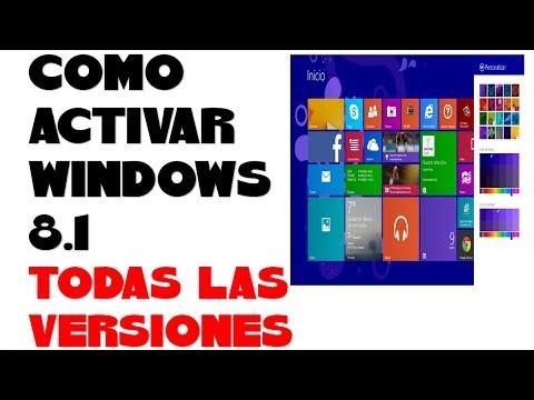 COMO ACTIVAR WINDOWS 8.1 (TODAS LAS VERSIONES)