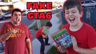 Kid Temper Tantrum Over Daddy 39 S Fake Gta 6 Game Prank Original