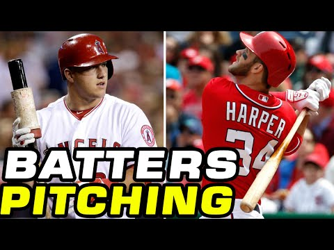 MLB 15 Mike Trout vs Bryce Harper: PITCHING BATTLE