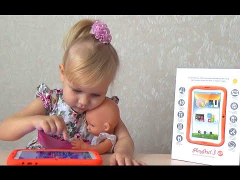 Обзор детского развивающего планшета PlayPad 3  ПлейПад 3