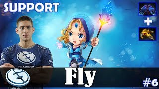 Fly - Crystal Maiden Roaming | SUPPORT | vs SumaiL (Gyrocopter) | Dota 2 Pro MMR Gameplay #6