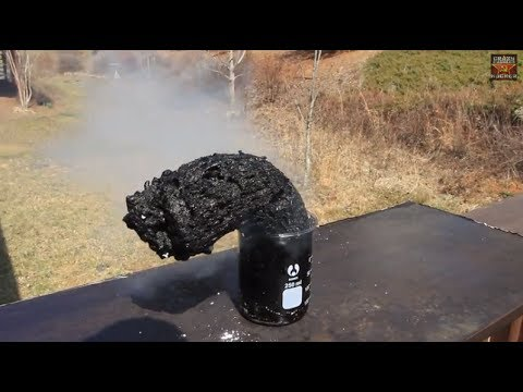 Sulfuric Acid and Sugar - Dehydration of Sugar Experiment