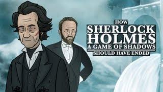 Sherlock Holmes: Game of Shadows: Como debió de haber terminado
