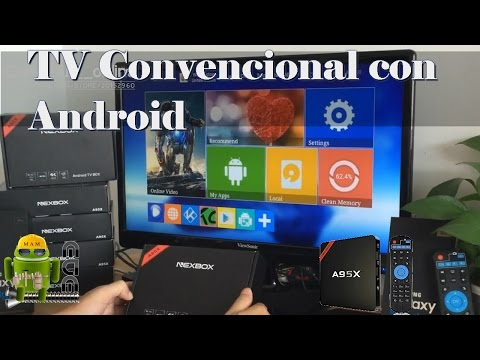Convierte tu TV en un Android TV Box con el NexBox A95X - Review Completo