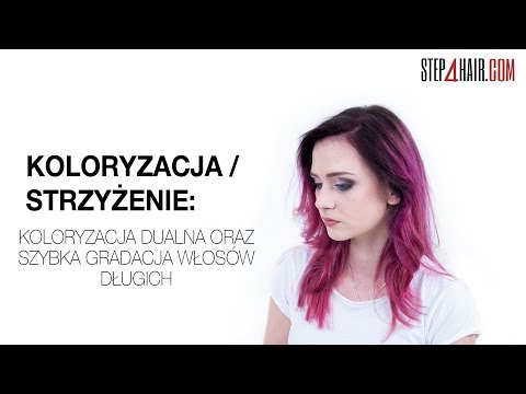 Step4hair.com: Pink hair tutorial by Sławek Kublin PL