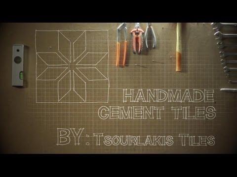 Handmade Cement Tiles by TsourlakisTiles