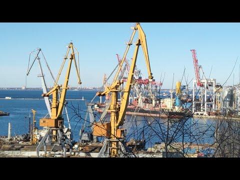 Порт Одесса. 24.02.2019