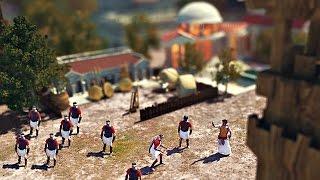 ミニチュア実写の「小さい帝国」がハイクオリティ過ぎるデジタル映像作品