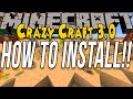 How To Install Crazy Craft 3.0 (Install The Crazy Craft Modpack!!)