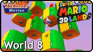Super Mario 3D Land - World 8 (100% Walkthrough, All Star Coins)