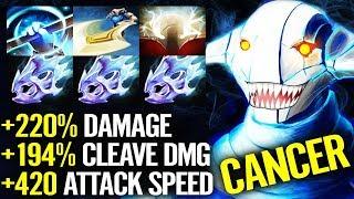 Cancer 3x Moonshard!!! 7.21 NEW Build SVEN Hard Carry - Crazy Fun Dota 2