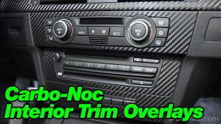Bimmian.com Carbo-Noc Interior Trim Overlays