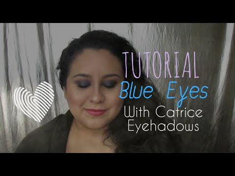 Tutorial - Blue Eyes With Catrice Eyeshadows