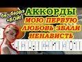 Ненависть Аккорды Алена Швец Разбор песни на гитаре Бой Текст mp3