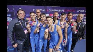 Glasgow 2018 - Mozzato Campione Europeo. Italia junior di bronzo e cinque finali conquistate!