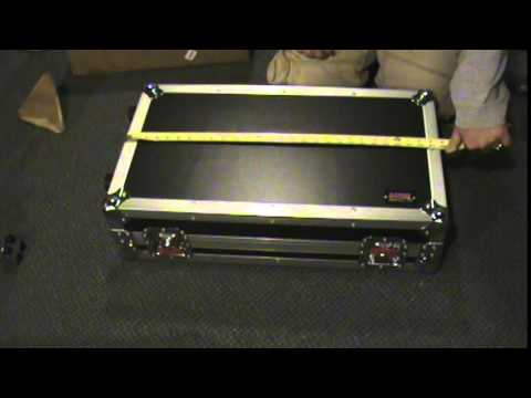 Gator Cases G-Tour Pedal Board LGW Initial Review Opening the Box