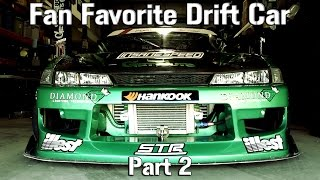 Fan Favorite Drift Car in Formula D - Forrest Wang - Part 2