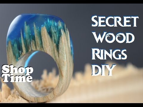 Secret Wood Rings DIY