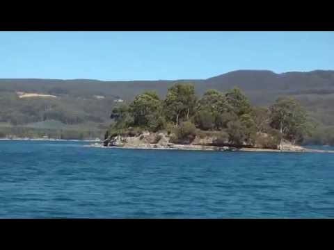 Isle of the Dead Cruise Port Arthur Tasmania