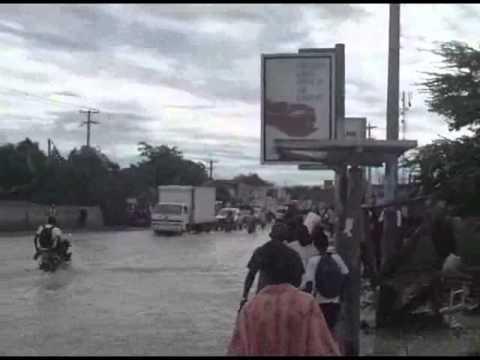 Innondation a Tabarre Nuit du 6 au 7 juin 2011 www.lenouvelliste.com.