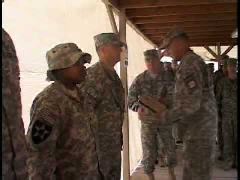 Soldier Earns Purple Heart in Warzone