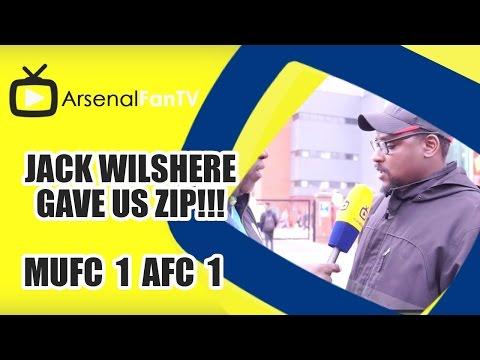 Jack Wilshere Gave Us Zip!!! | Man Utd 1 Arsenal 1