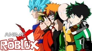 DEKU AND MOB JOIN THE FUN! || ROBLOX Anime Cross (Roblox Anime Crossover Game)