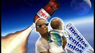 Kids Videos - Coke and Mentos Prank on Mom