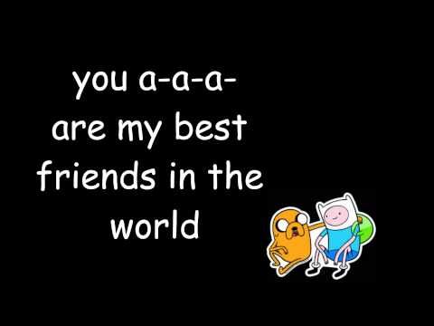 Adventure Time: What am I to you LYRICS HD
