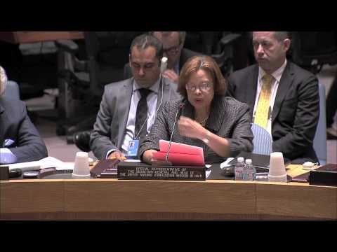 HAITI: ELECTORAL IMPASSE, INSECURITY, INSTABILITY: UN S-C TOLD TODAY