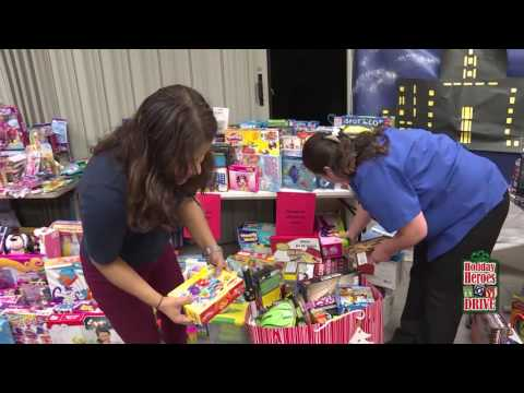 Holiday Heroes Toy Drive 2016
