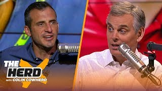 Doug Gottlieb talks Packers, Zeke holdout, RB market, Clowney trade & Jalen Hurts' debut | THE HERD