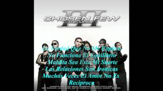 08. Jowell & Randy Ft LDA - Entonces Esta Bien (Chosen Few III The Movie 2008) Con Letra