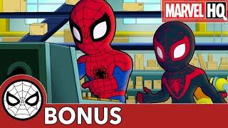 Spidey Remix with Miles!   Marvel Super Hero Adventures   BONUS CLIP