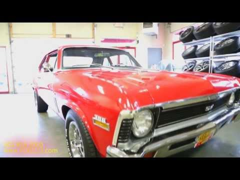 1970 Chevrolet Nova SS396 4-Speed for sale with test drive, driving sounds, and walk through video