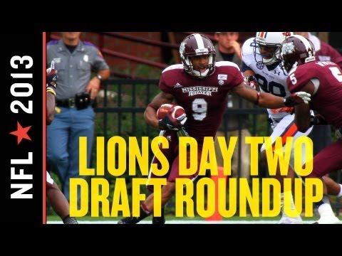 Detroit Lions 2013 NFL Draft Day 2 Roundup
