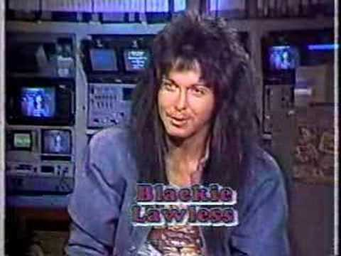 Blackie Lawless Interview pt.1 of 2 - MuchMusic 1986