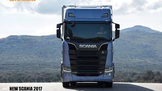 Novo Scania 2017 S-series interior & exterior design (New Scania 2017)
