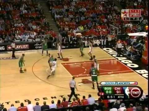 Ray Allen - 51 points - Playoffs 2009