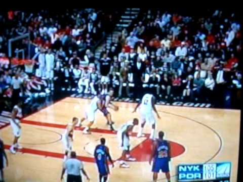 Gus Johnson's call of Al Harrington 3-pointer