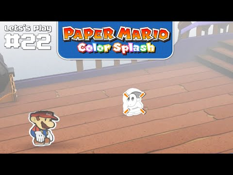 So ist das, wenn man nichts kann xD • Paper Mario: Color Splash #22 ★ Let's Play