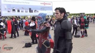 Mass Effect Rally - MCM Expo Comic Con London - May 2013