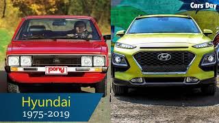 수출용 현대자동차 진화과정/Hyundai Motors - BeingExport-bound Evolution (1975 - 2019)