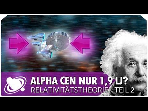 Längenkontraktion | Spezielle Relativitätstheorie: Teil 2 (2018)