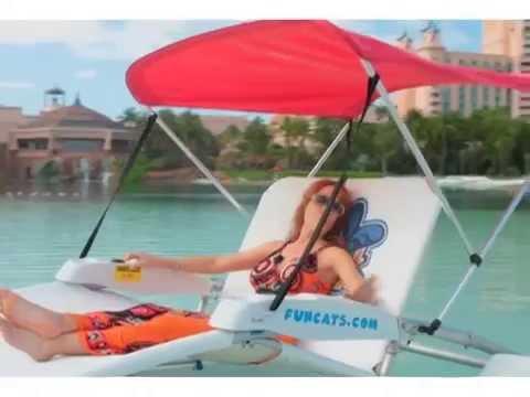 Natalie Boating in Paradise at Atlantis Bahamas