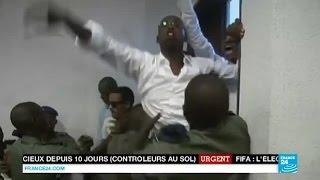 SÉNÉGAL - Hissène Habré amené de force au tribunal