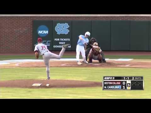 UNC Baseball: Highlights vs. Boston College - Game 1